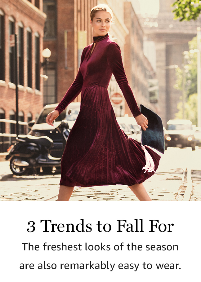 3 Trends to Fall For
