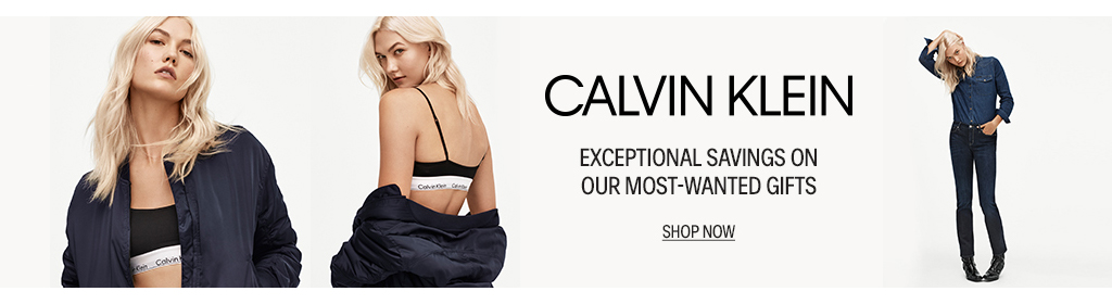 Calvin Klein: Exceptional savings on our most-wanted gifts