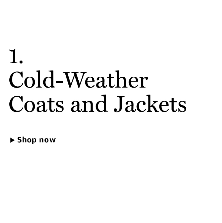 Cold-Weather Coats and Jackets