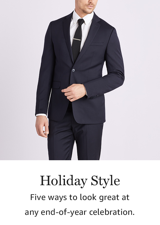 Holiday Style: Five ways to look great at any end-of-year celebration.