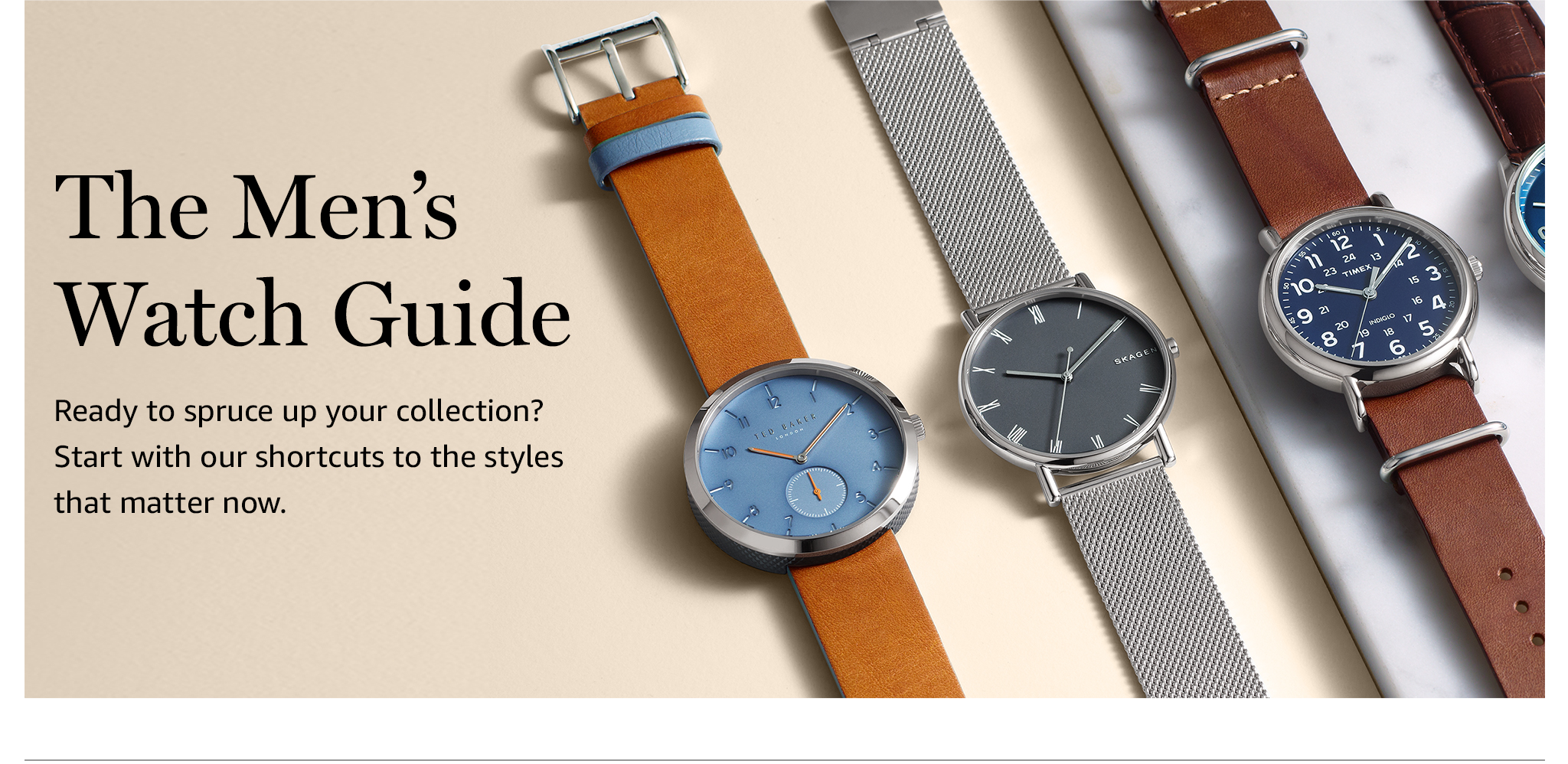 The Men's Watch Guide