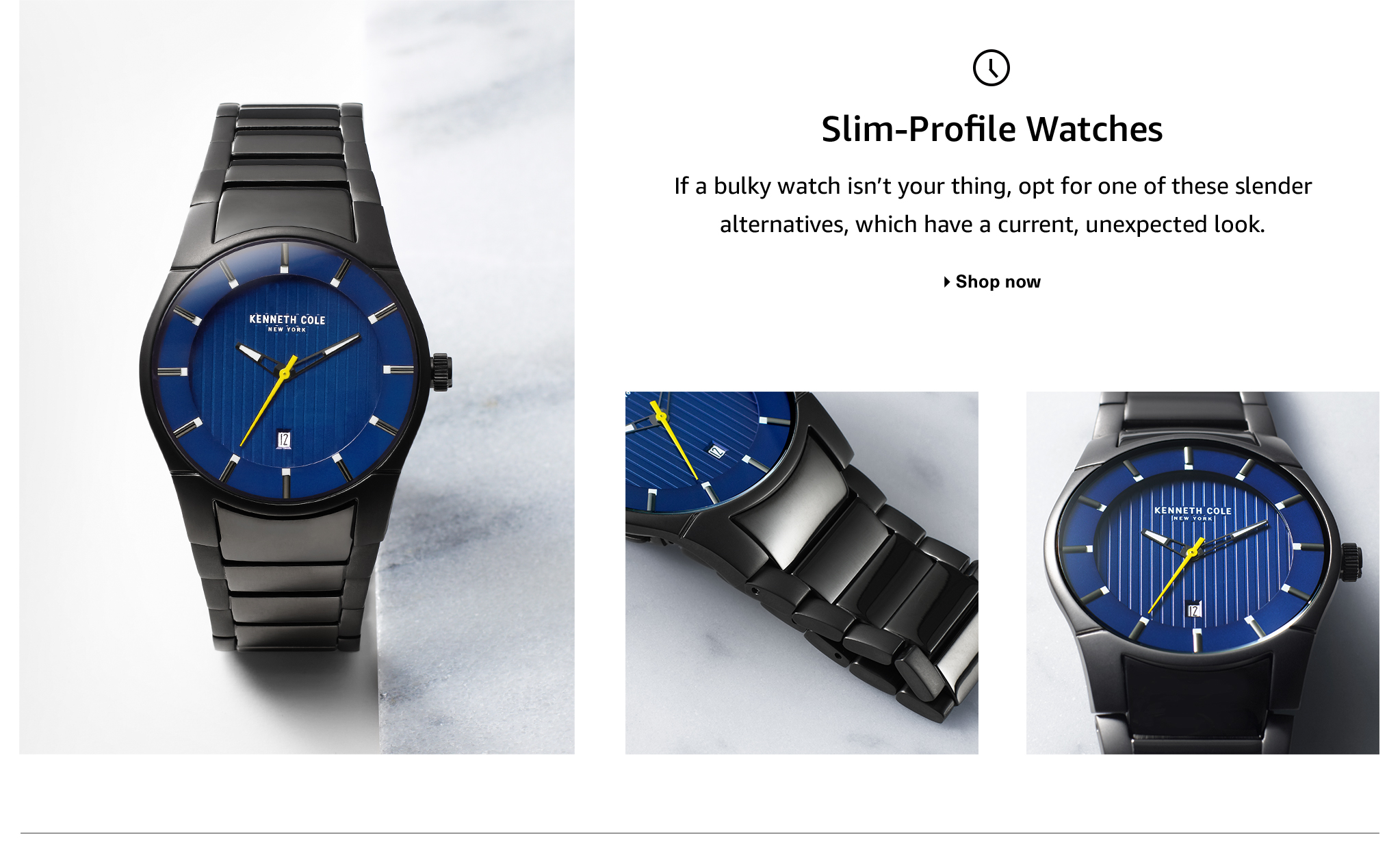 Men's Slim-Profile Watches