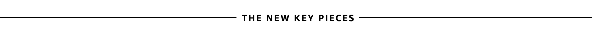 The New Key Pieces