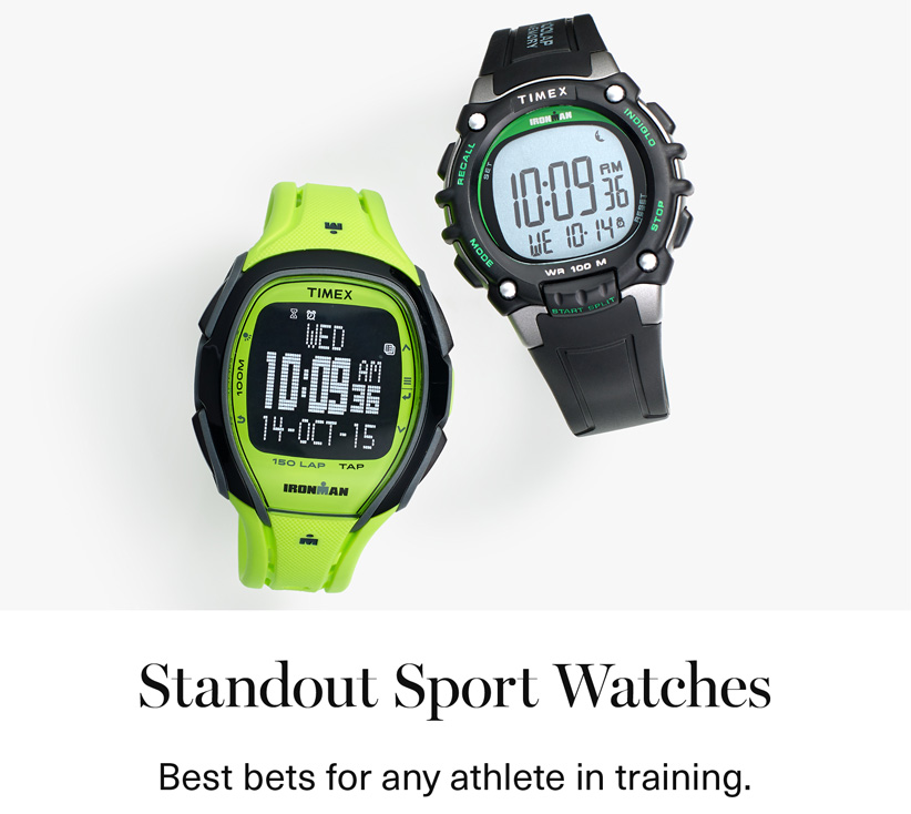 Standout Sport Watches