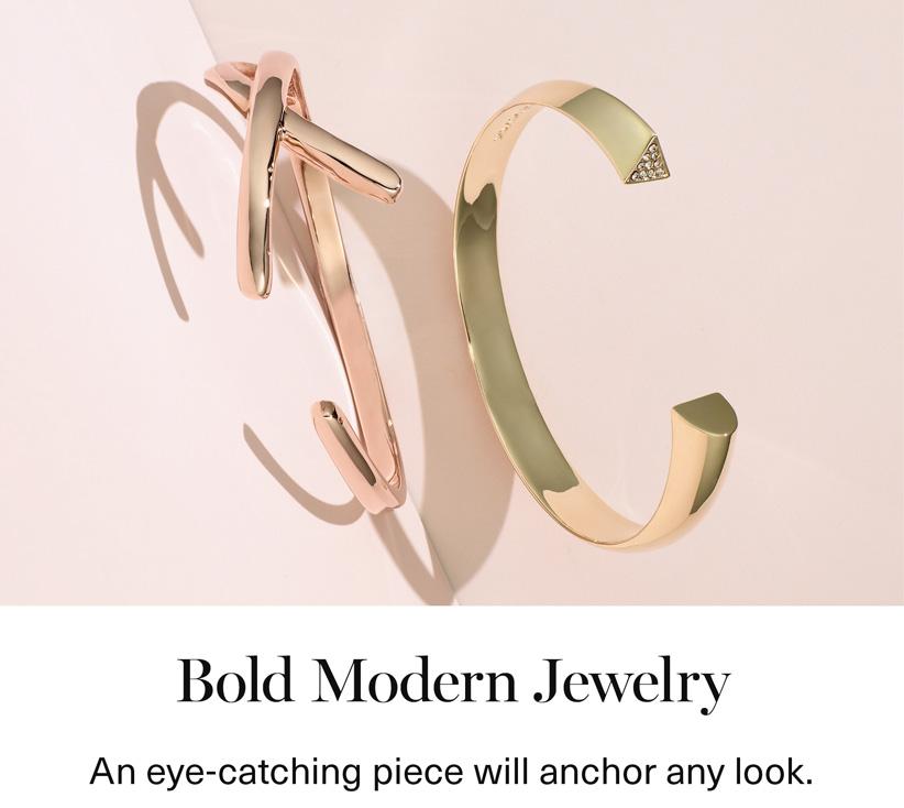 Bold Modern Jewelry