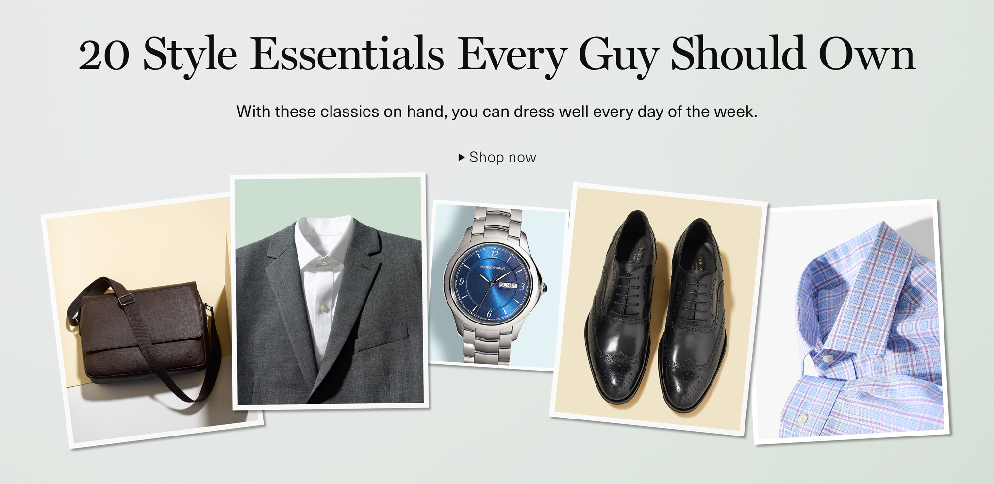 20 Essentials Every Guy Should Own