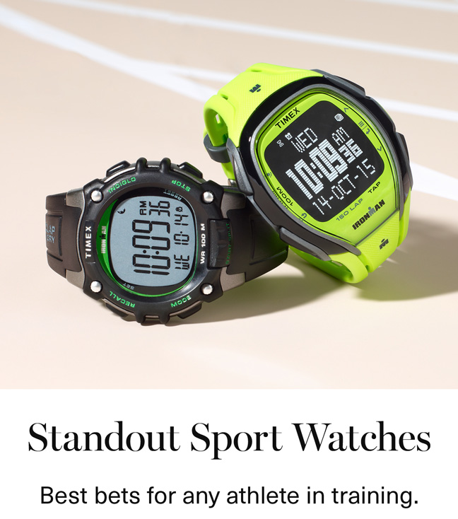 Standout Sport Watches