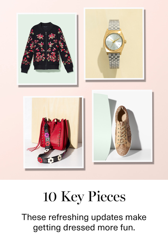 10 Key Pieces
