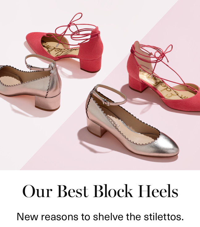 Our Best Block Heels
