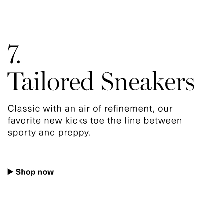 The Tailored Sneakers