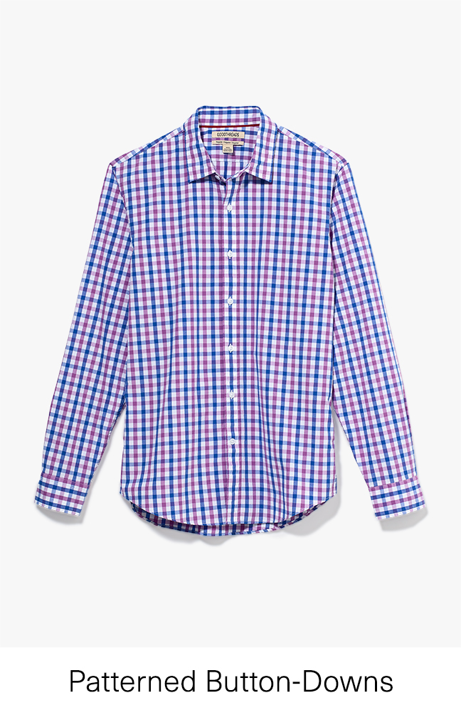 Patterned Button-Downs