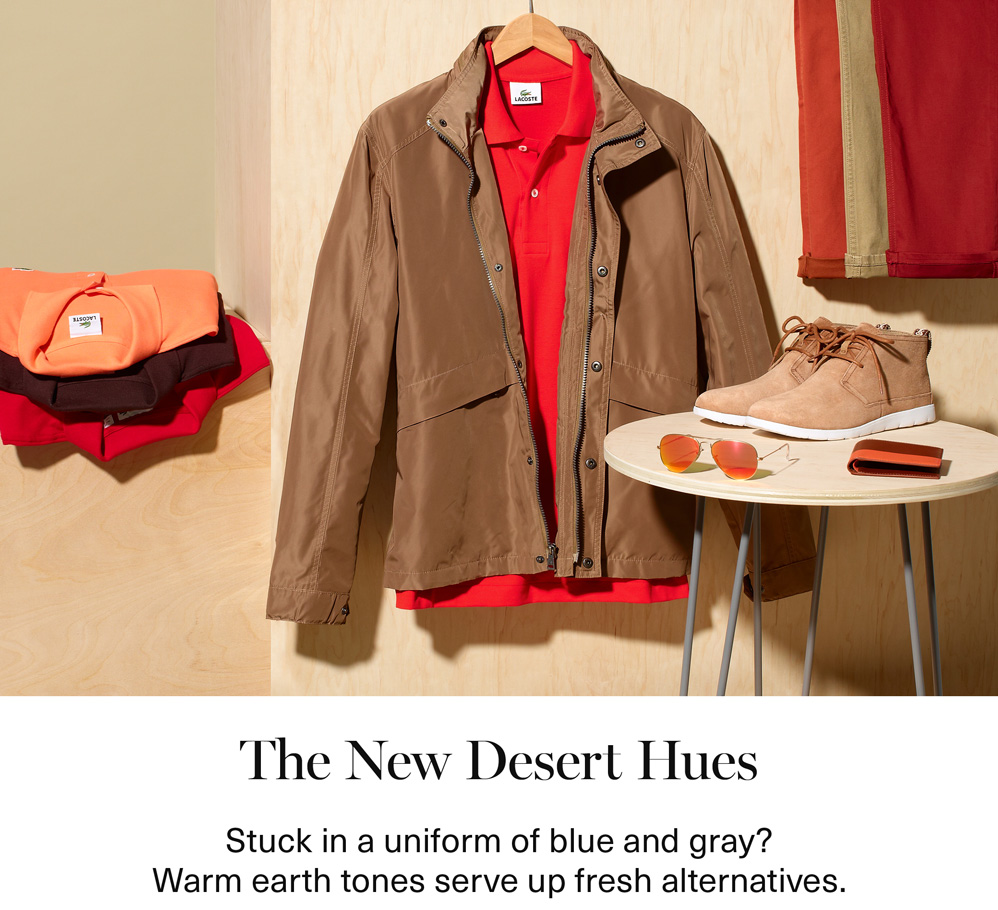 The New Desert Hues