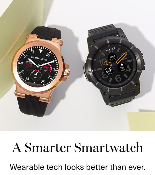 A Smarter Smartwatch