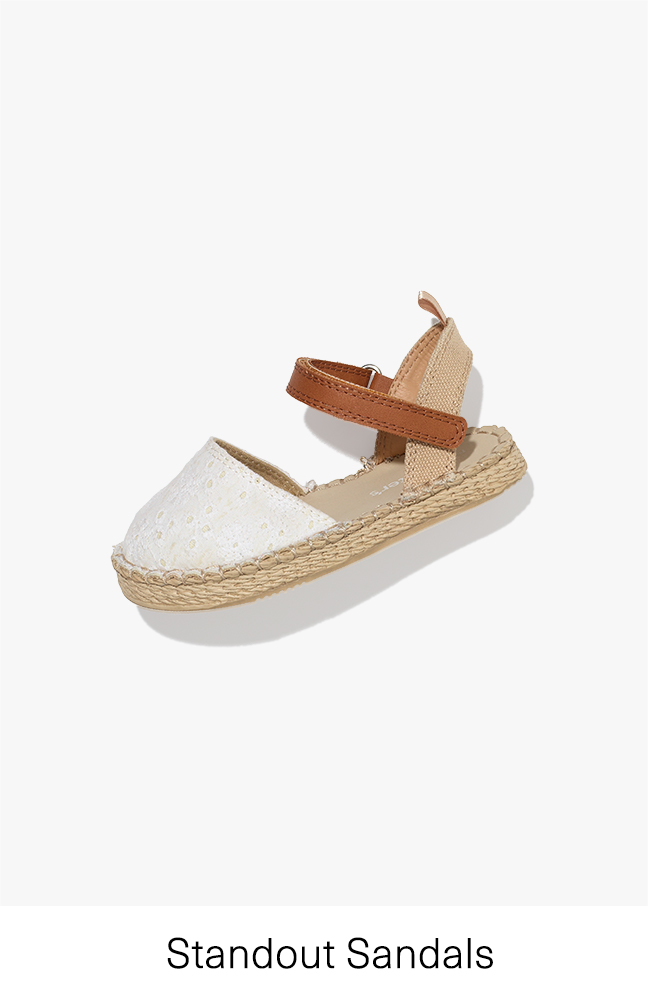 Standout Sandals