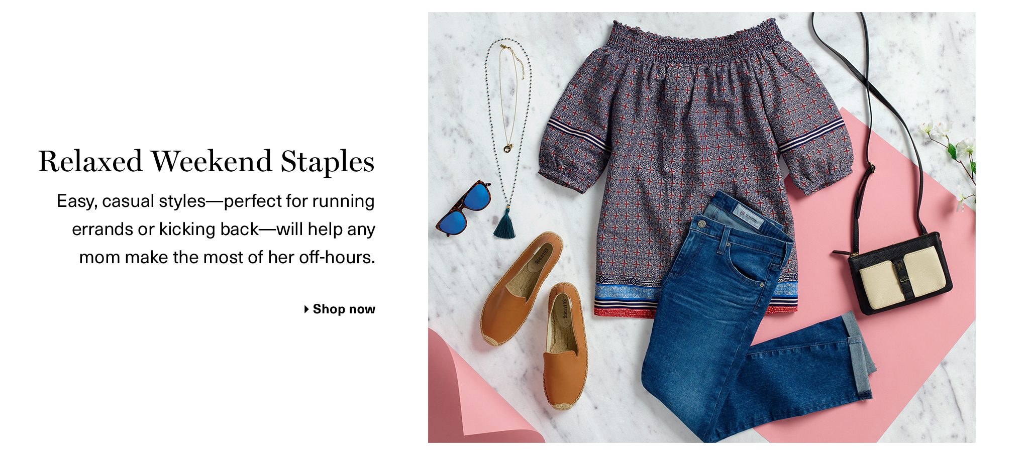 Relaxed Weekend Staples