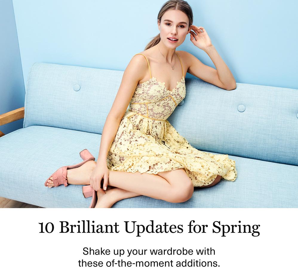 10 Brilliant Updates for Spring