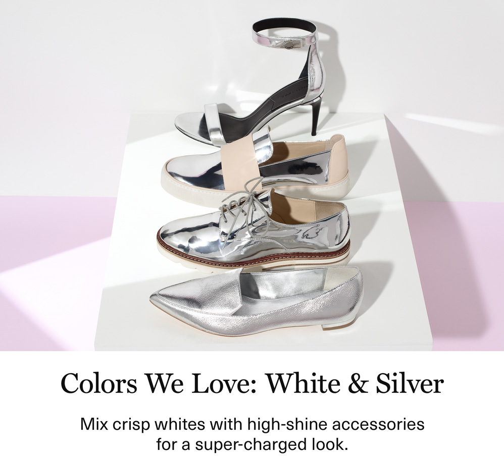 Colors We Love: White & Silver