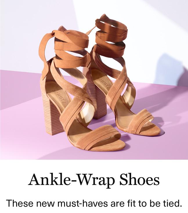 Ankle-Wrap Heels