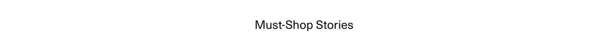 Must Shop