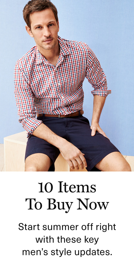 10 Items to Buy Now