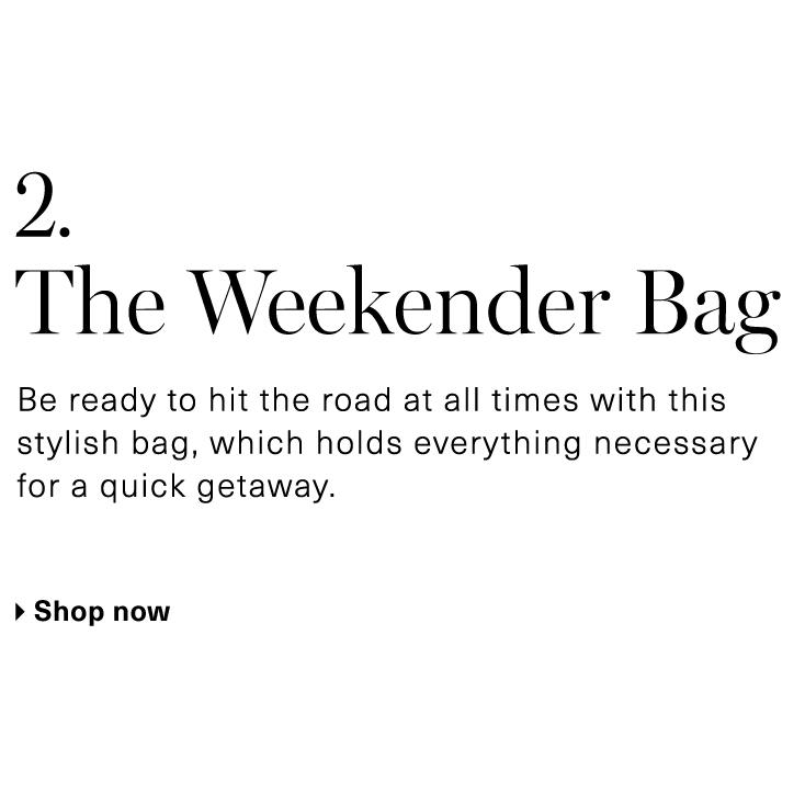 A Weekender Bag