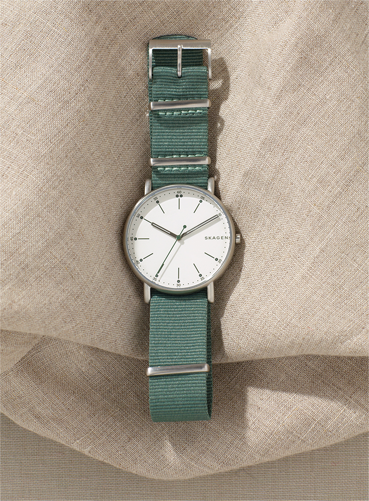 A Canvas Watch