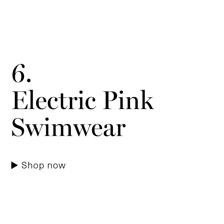 Electric Pink Swimwear