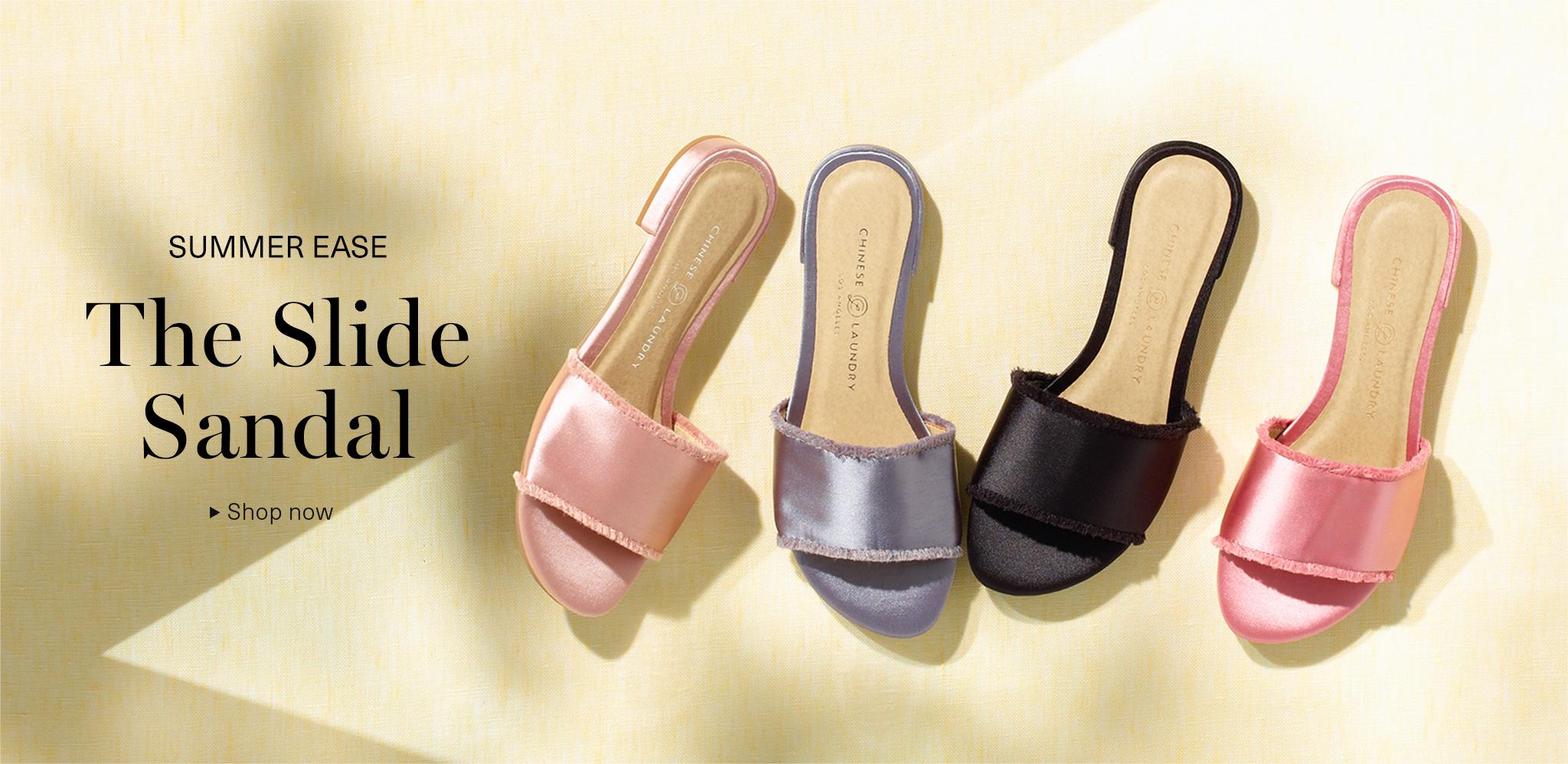 The Slide Sandal