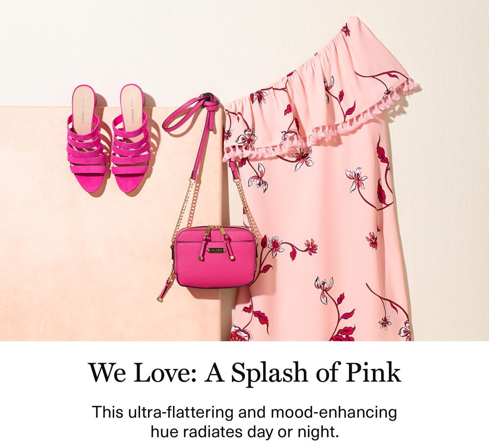 We Love: A Splash of Pink