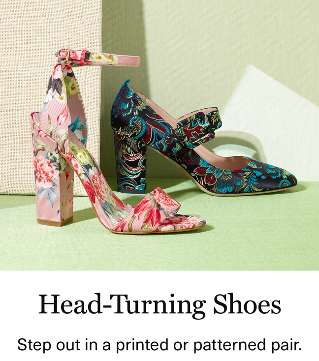 Head-Turning Shoes