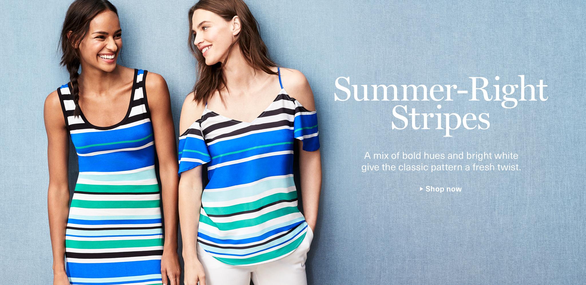 Summer-Right Stripes