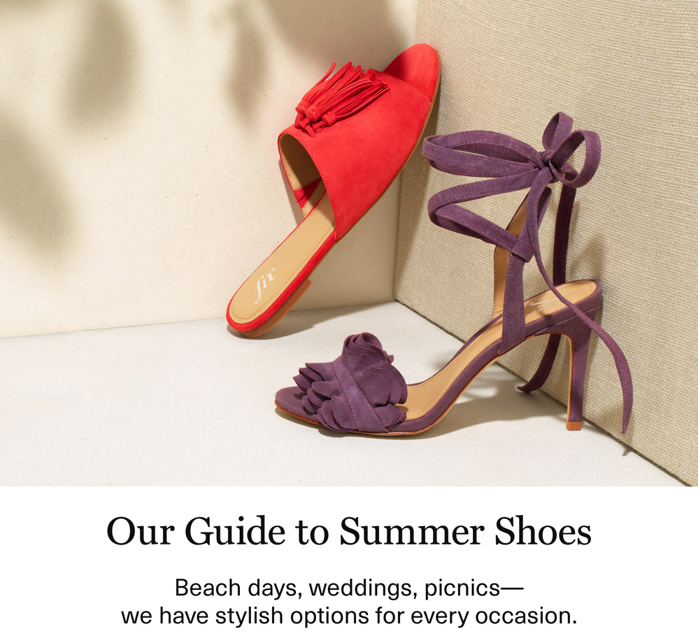 Our Guide to Summer Shoes