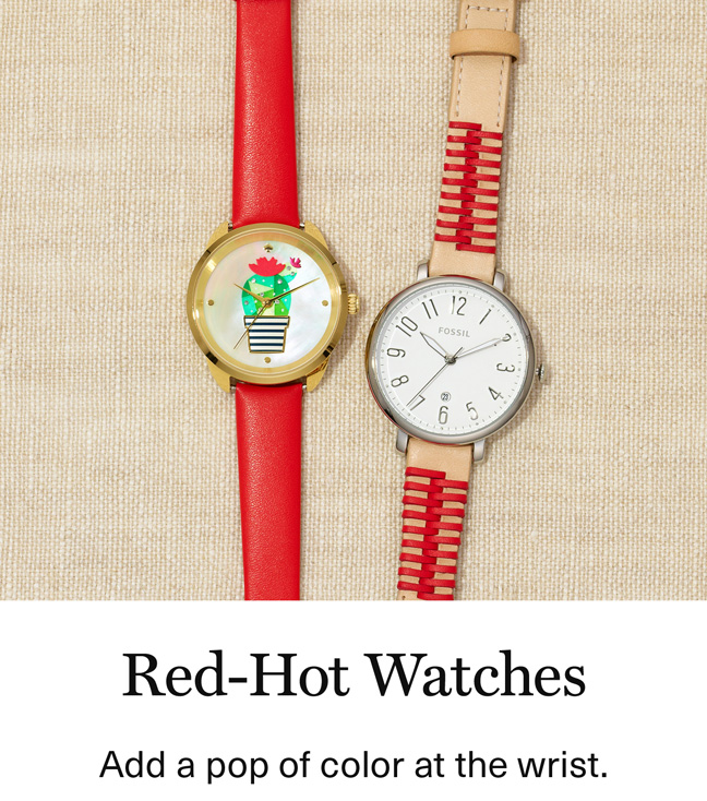 Red Hot Watches