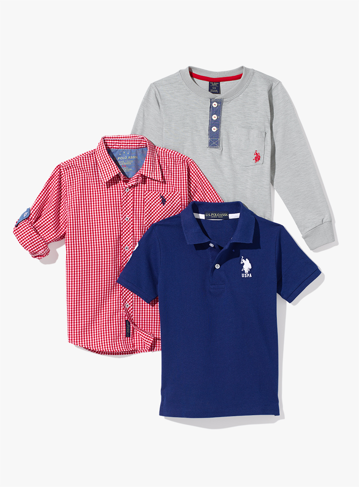 Classic Polos and Button-Downs