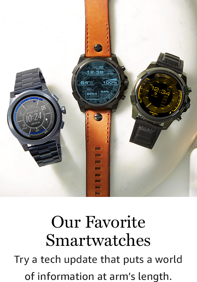 Our Favorite Smartwatches