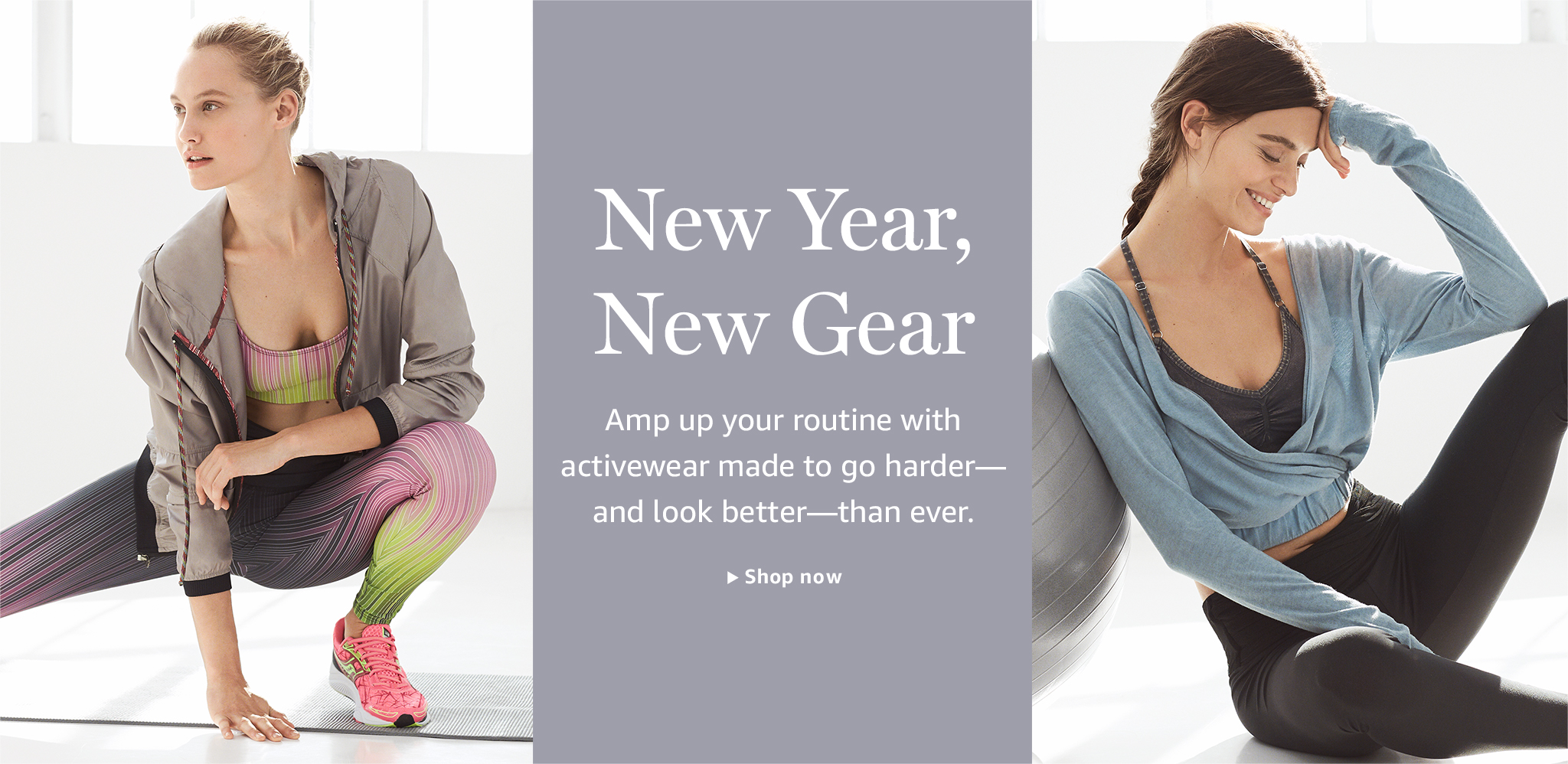 New Year, New Gear: Activewear