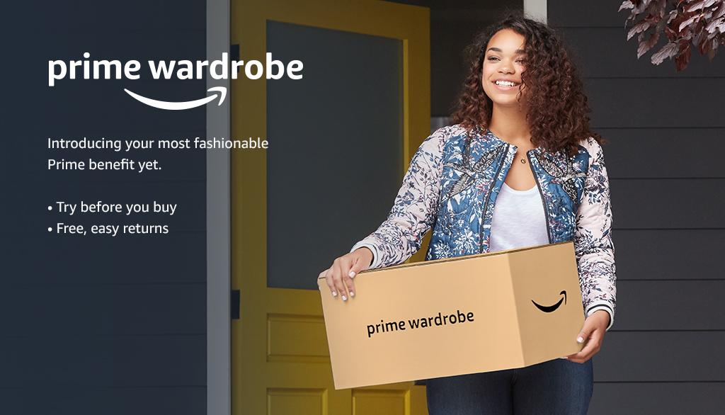 Introducing Prime Wardrobe