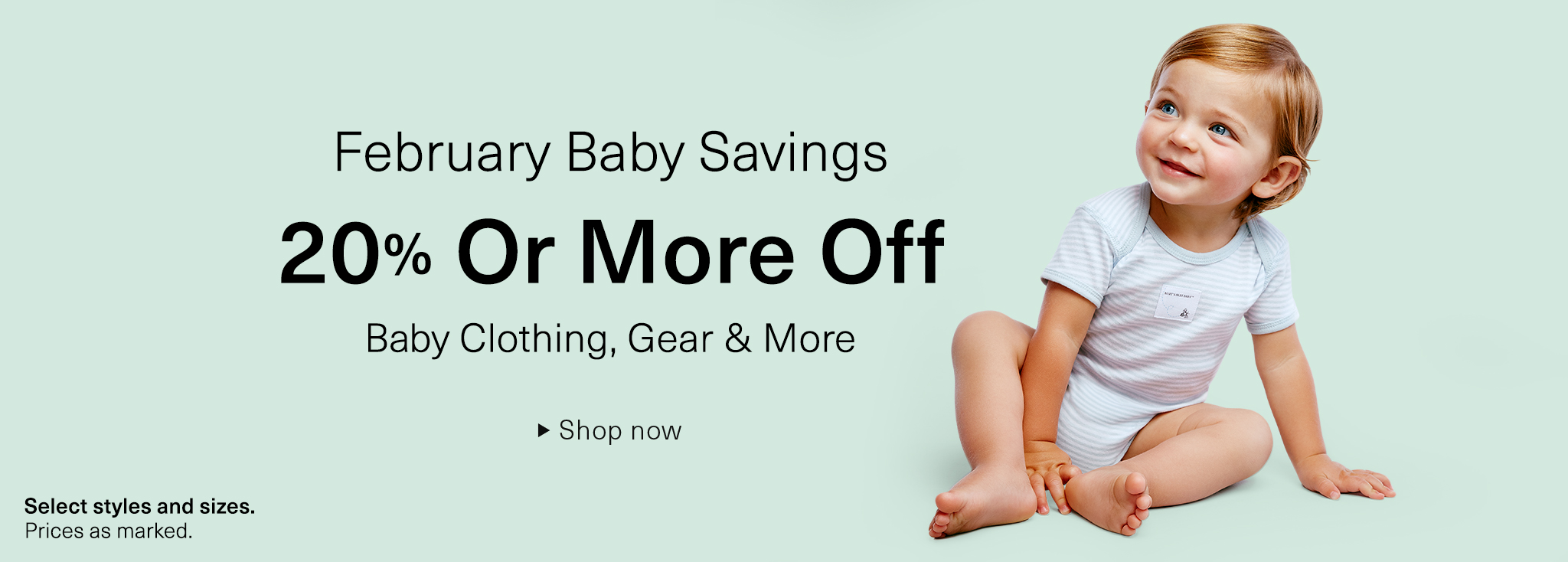 Sales - Baby Savings for Clothing, Gear & More