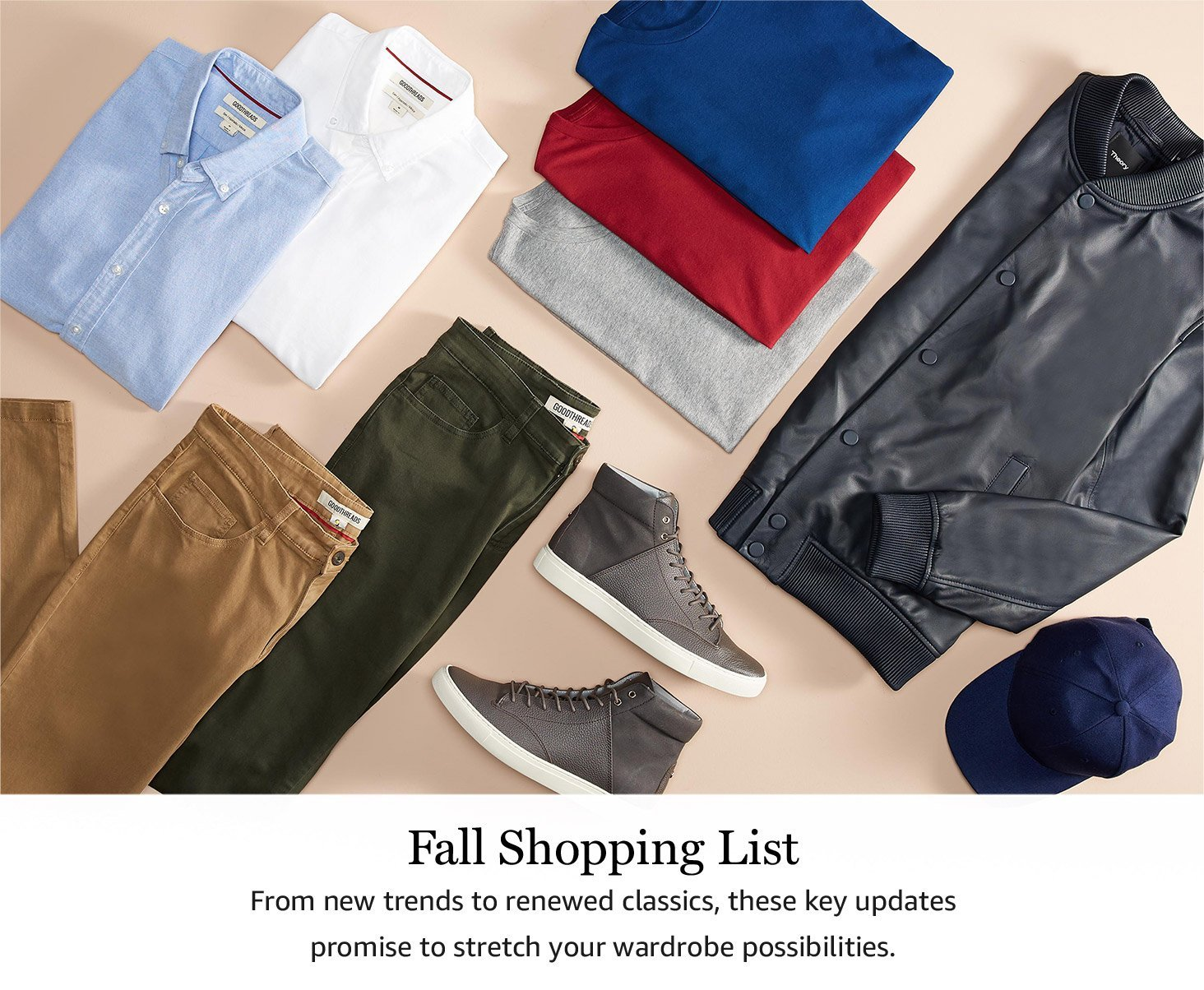 Fall Shopping List