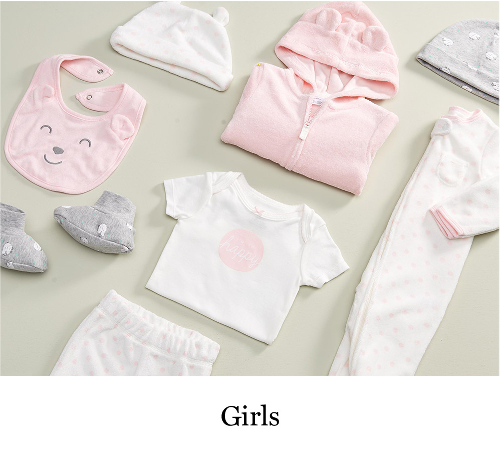 7c1da18961a Baby Girls. Shop baby girl clothes by size