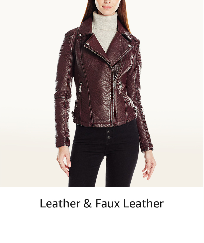 d00287c01029b Leather   Faux Leather. Denim Jackets. Fur ...