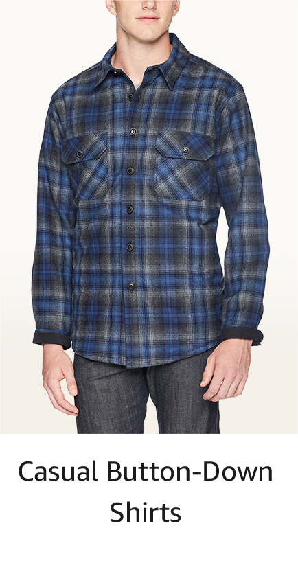 1adf1f1d Casual Button-Down Shirts