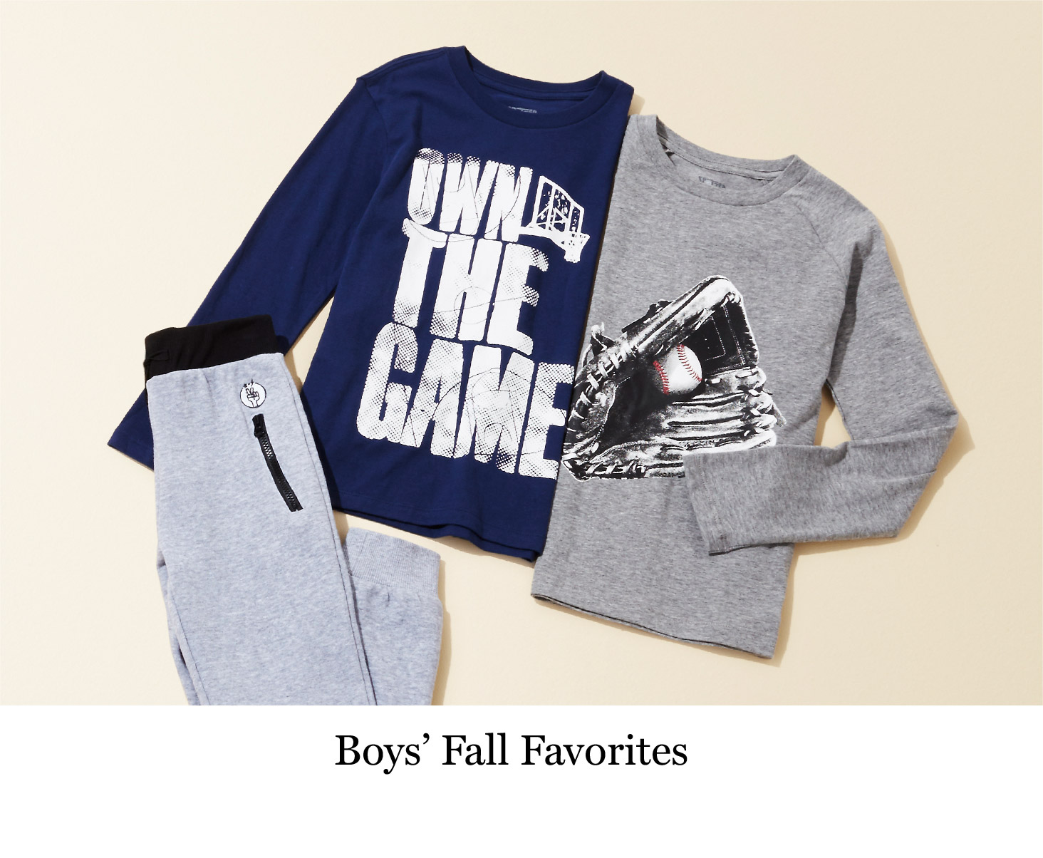 Boys' Fall Favorites