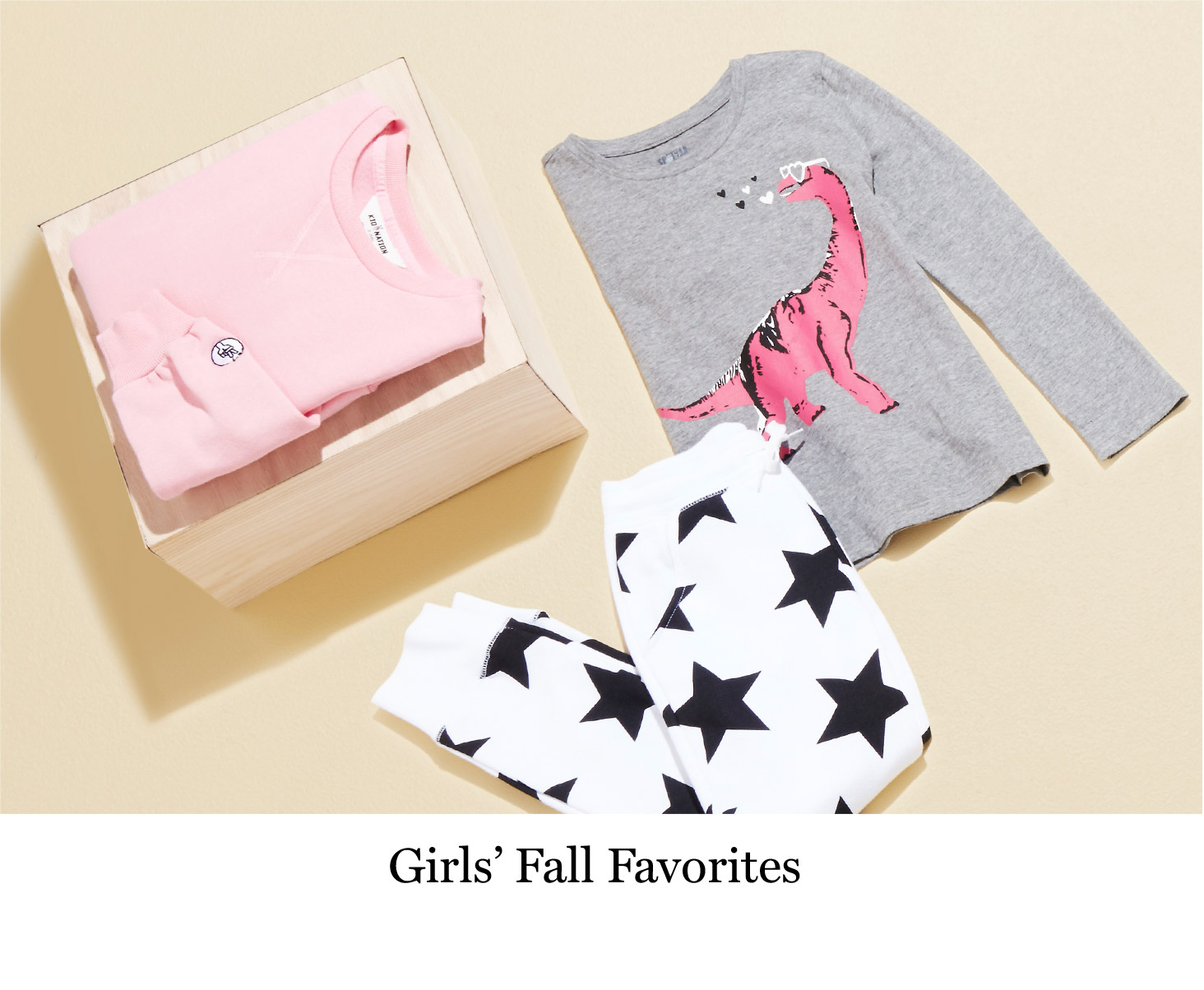 Girls' Fall Favorites