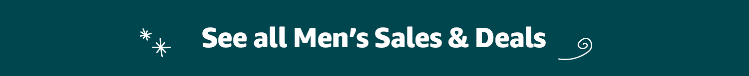 Shop all men's sales and deals