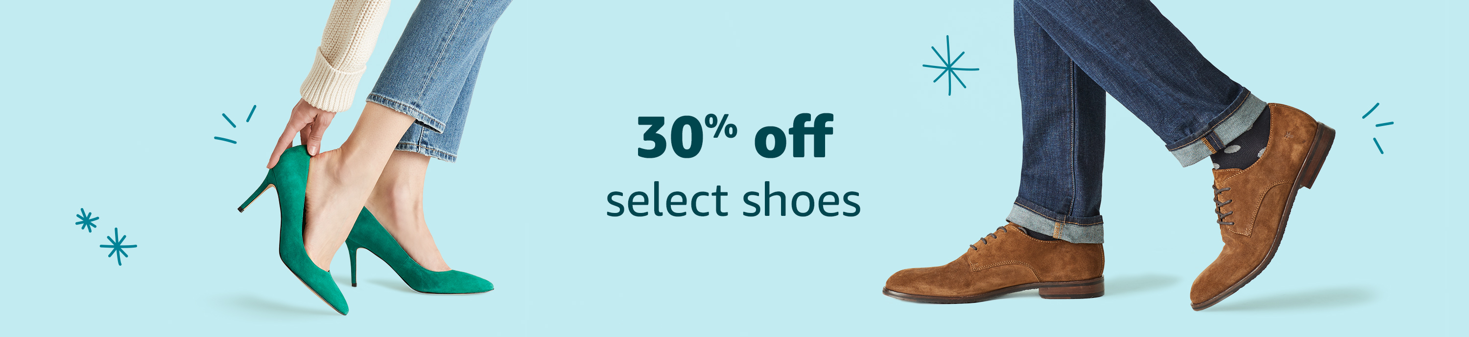 Up to 30% off select shoes