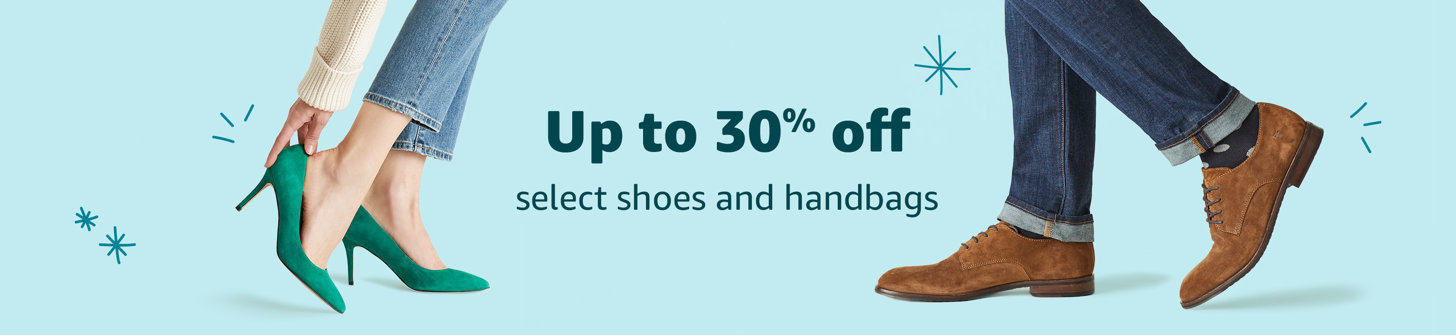 Up to 30% off select shoes & handbags