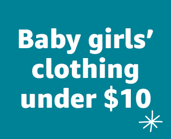 Baby girls' clothing under $10