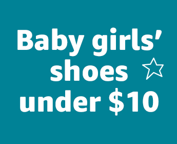 Baby girls' shoes under $10