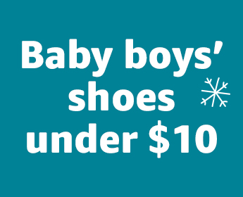 Baby boys' shoes under $10